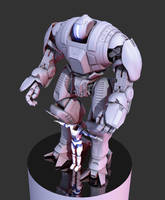 Medium Mech Update-Chest arms by Pynion
