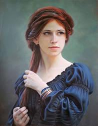 Retrato Medieval by marchenart7