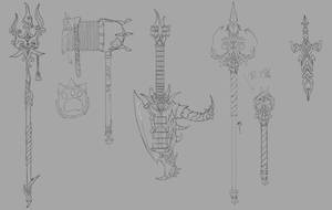 Weapons Design by tiesna0730