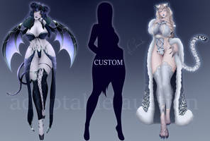 (OPEN) Custom Auction #12 by ChisanaKis
