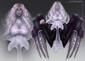 [OPEN] Arachnid Girl Bride adopt auction #12 by ChisanaKis
