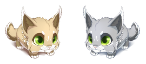 chibi lynx by BlackLynxLair
