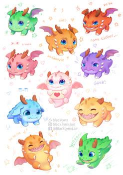 dragon cuties