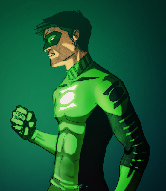 Kyle Rayner pre final by 22twoYoung Justice Kyle Rayner