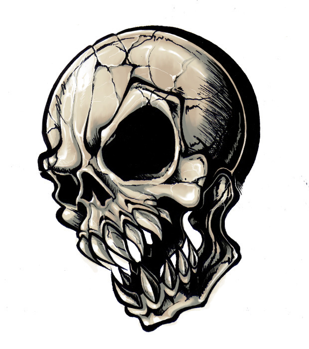 Generic Tattoo For Men Or Women Small: Generic Tattoo Skull 25 By Deadmansreel On DeviantArt
