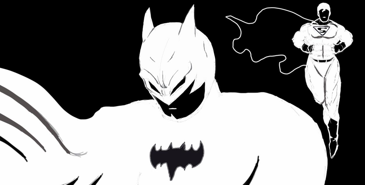 Batman vs superman by djouss13