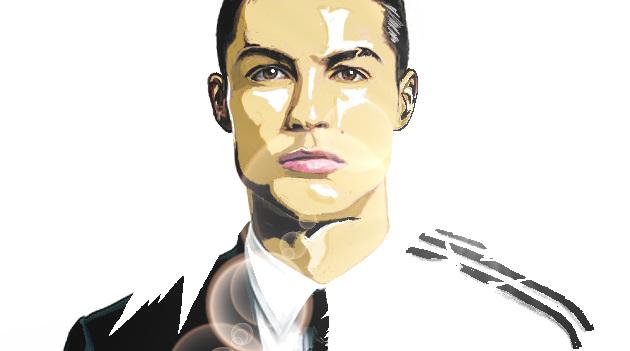 MY ART ULLISTRATOR CR7 by djouss13