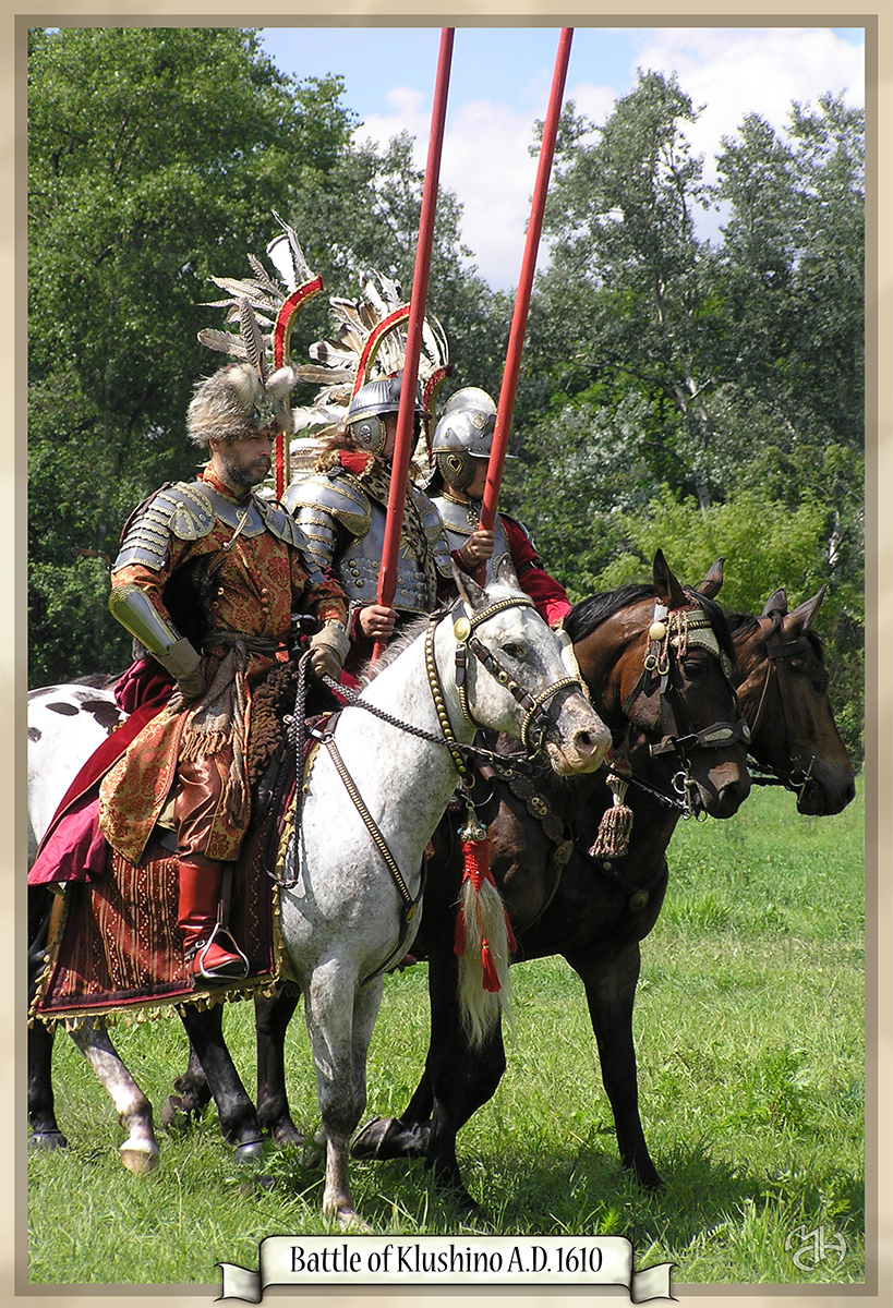 Polish hussars by Marqoni