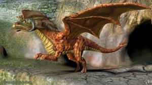sculptris winged dragon