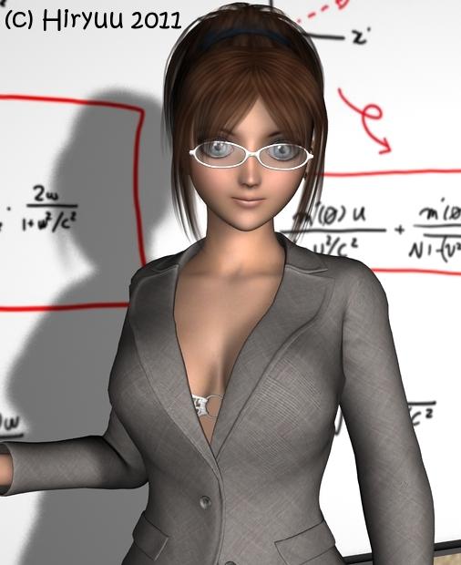 Sexy teacher - closeup shot by DamselHunterHiryuu
