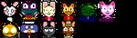 Animal icons1 by Beetles-Zero