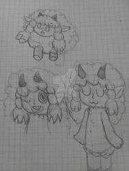 Wooloo sketches