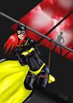 Batgirl tied agein