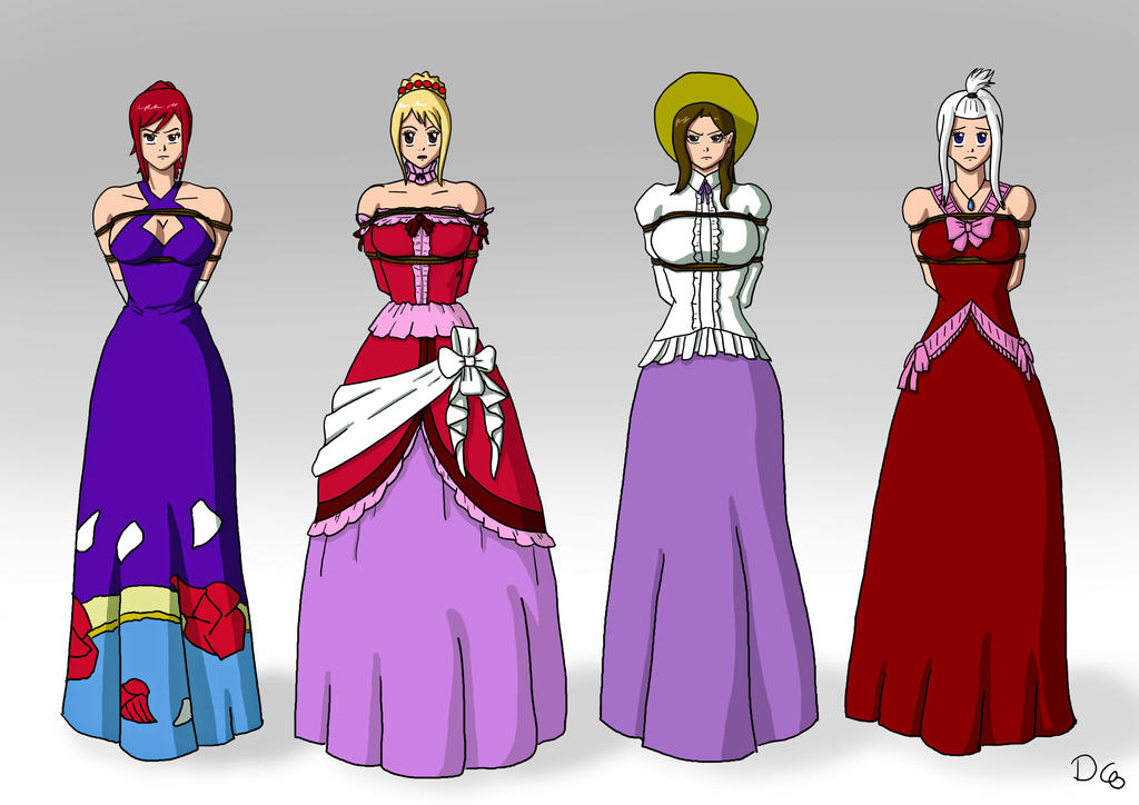 Fairy Tail Tie Dress Up By DarkChaosBlack On DeviantArt