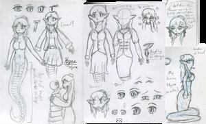 WIP Character - Hyra