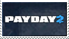 Payday 2 Stamp by TheGreatWarrior