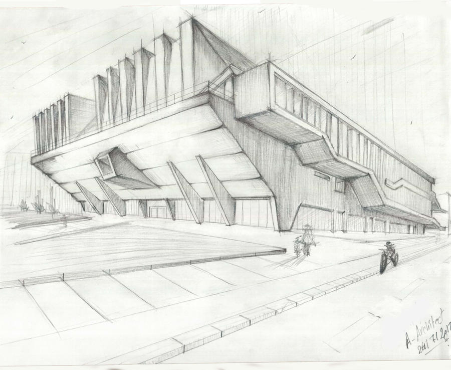 Speed Sketch By A Architect