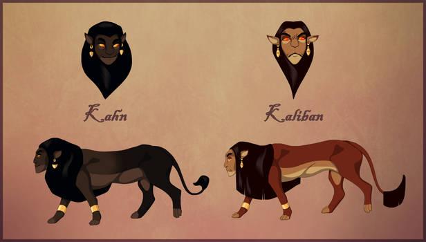 Kahn and Kaliban by ProfessionalVillain