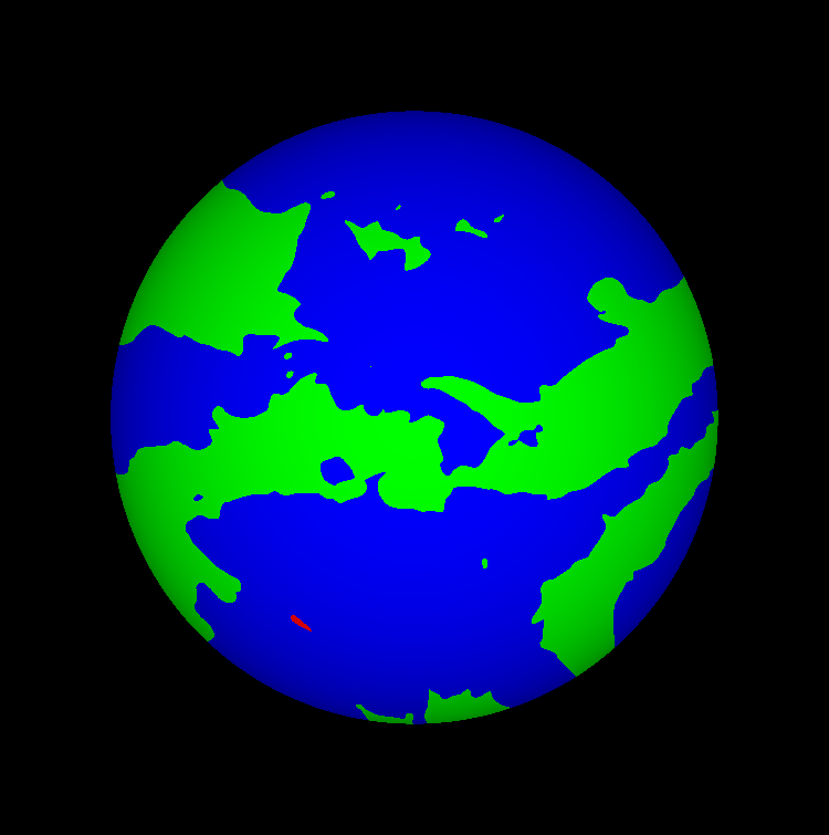 Gene Art - Earth-like planet by JiFish