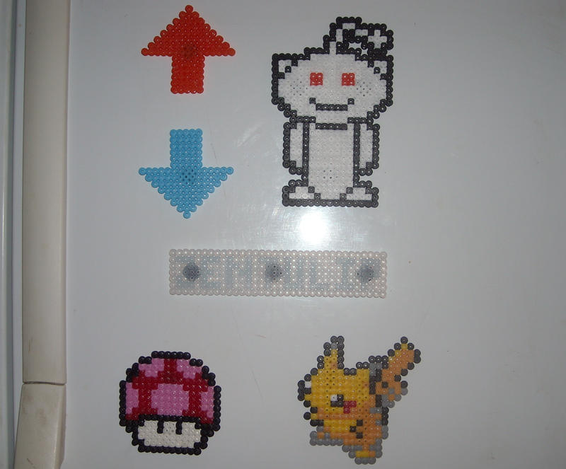 Reddit, Pikachu magnets hama by JiFish