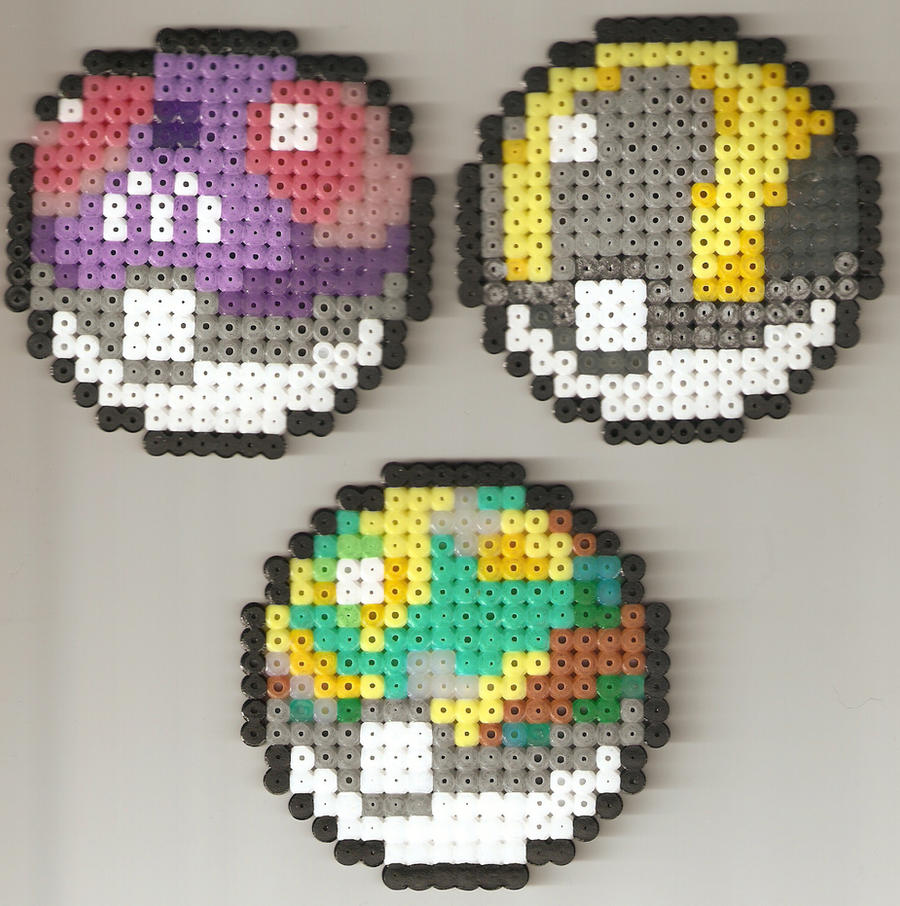 Master, Ultra and Safari Balls by JiFish