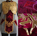 Magic Armor Link WIP - Tabard Finished