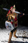 Magic Armor Link cosplay