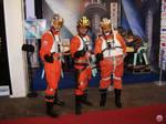 Rebel Pilots at Star Wars Expo
