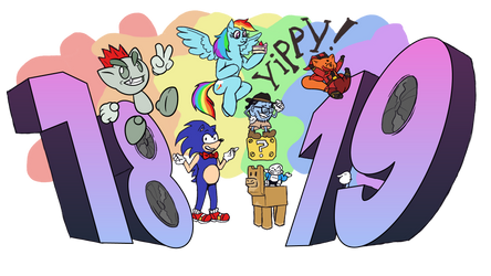 Happeh 19th Birthday deviantART by STONED-HERETIC