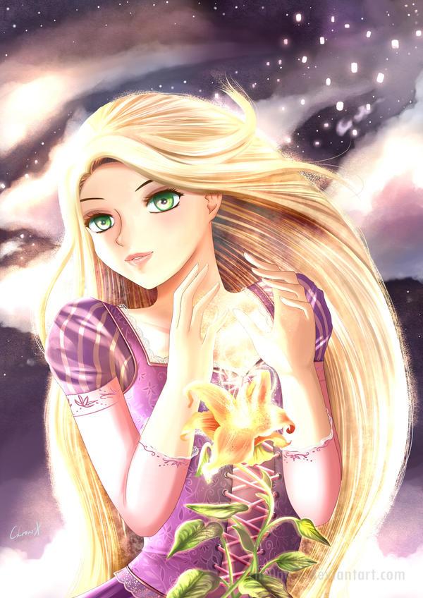 Rapunzel by Chr0n0-X