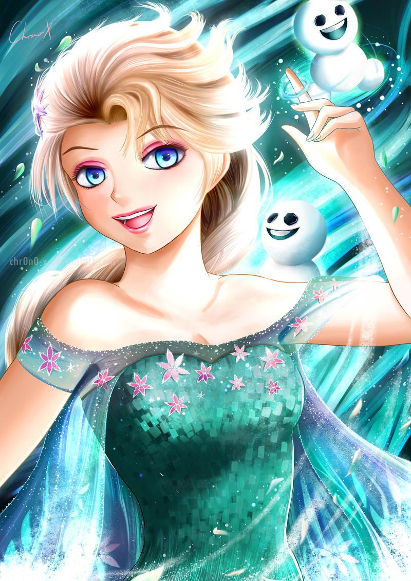 frozen_fever_elsa_by_chr0n0_x-d9bkyn0.jp