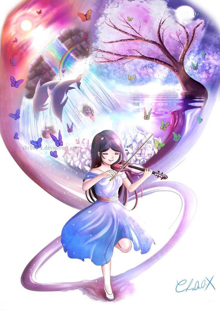 The Violinist by Chr0n0-X