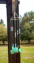 Shell and Crystal Windchime Proto-type