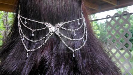 Butterfly Hair Chain/Net