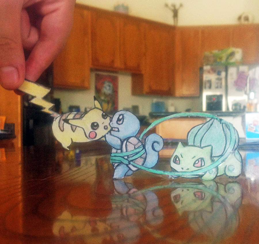 Paperchild Pokemon by Envy1313