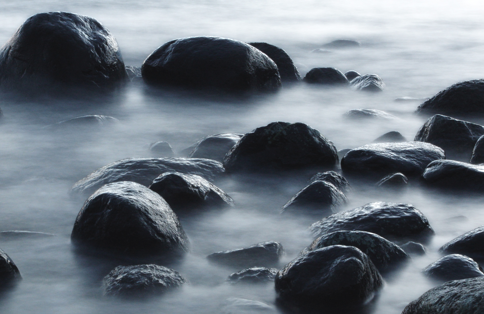Foggy water by ClasPhoto