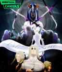 Blindsight Cover |Read on WEBTOON Canvas!| by TwiztedParadise