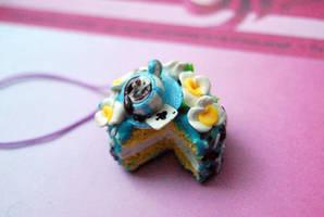 Alice in Wonderland Polymer Clay Cake