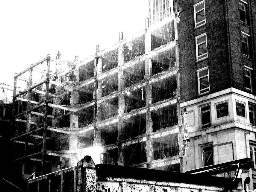 Tearing it down.... by Littlelion225
