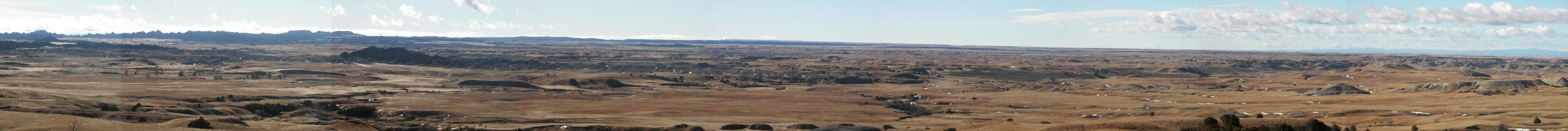 Panoramic Badlands by Littlelion225