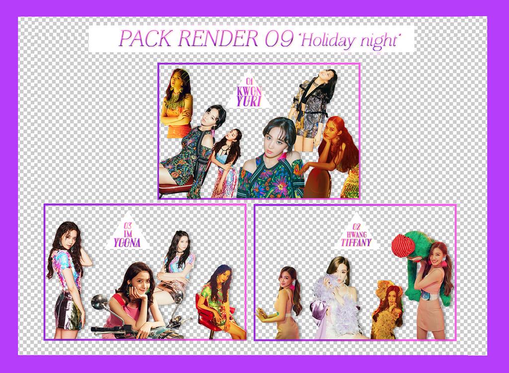 [10+PNGs] PACKRENDER 09 - SNSD YOONA| TIFFANY|YURI by nganstephanie