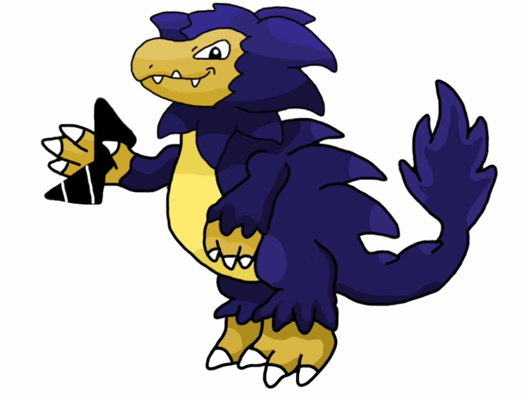 Krookastax, Crooked Dino Fakemon by K-Egg