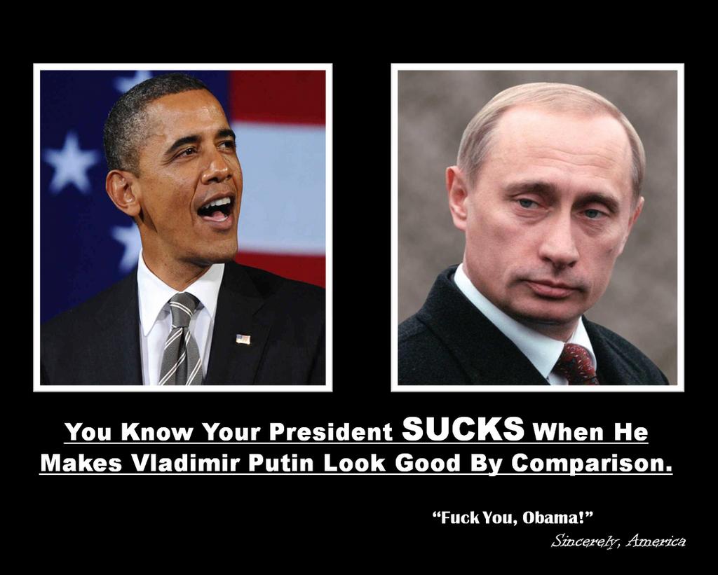 Obama vs Putin by IAmTheUnison