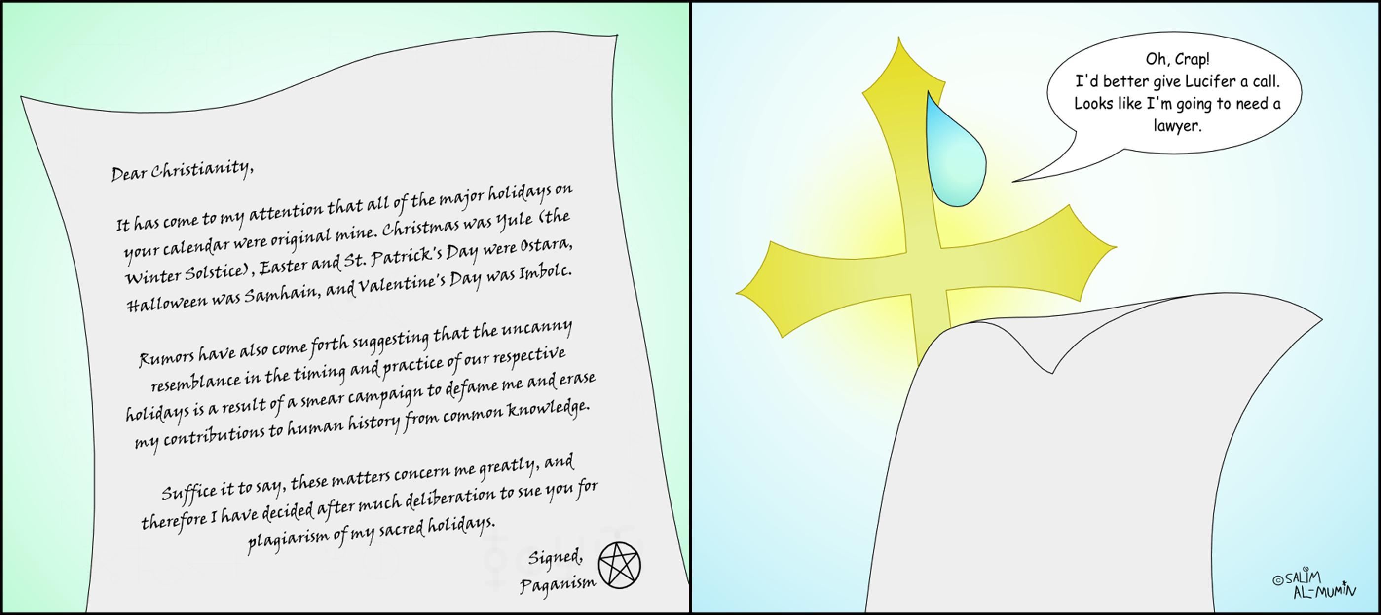 Religious Lawsuit by IAmTheUnison