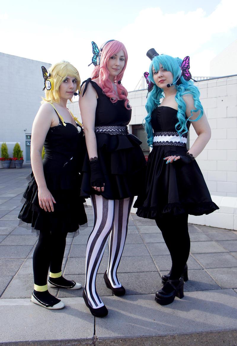 Vocaloid Trio by kunoichi-me