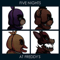 FIVE NIGHTS AT FREDDY'S by Gyki