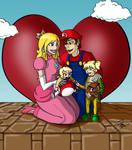 Super Mario Freeman Family