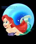 The Little Mermaid Bubble