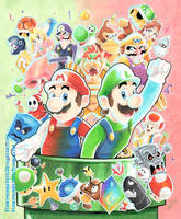 Mario Party by funkymonkeysyd