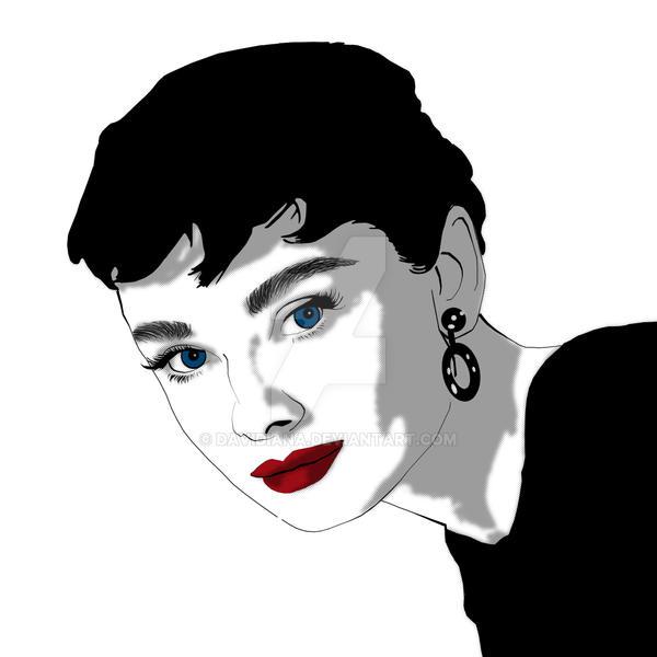 AUdrey Hepburn - Pop Art 1 by davidiana on DeviantArt
